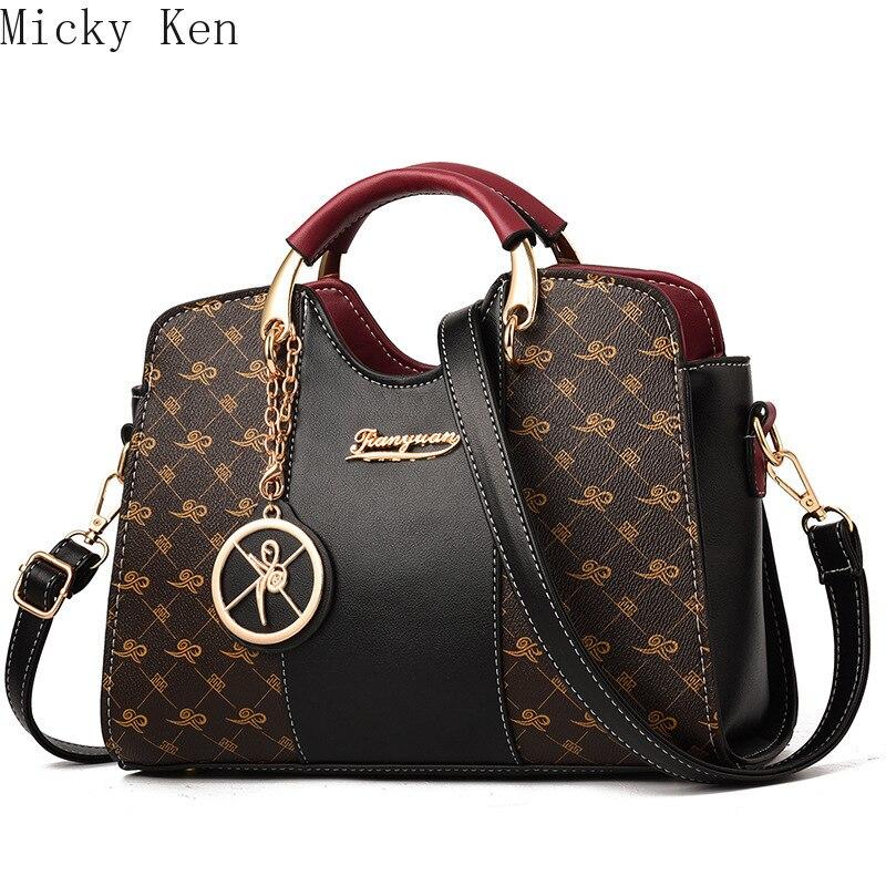 2019 Luxury Handbags Women Bags Designer Brand Elegant Bag Women Designer Women Bags Messenger Shoulder Bag for Women(China)