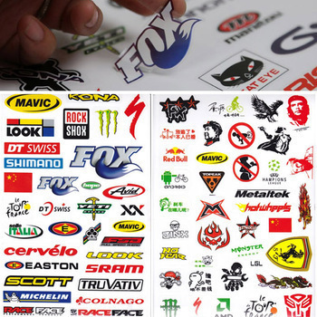 Hot Outdoor Bicycle Skateboard Sticker