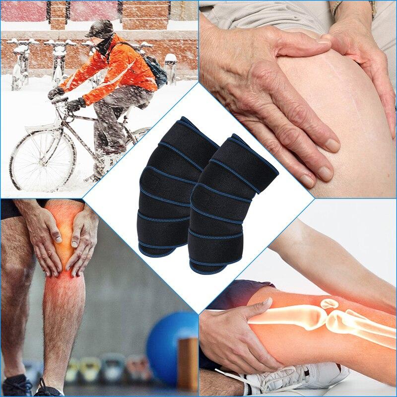 1 пара Здоровье и гигиена наколенника Поддержка терапия сжатия рукава для артрита разрыв мениска ACL боли восстановления после травм