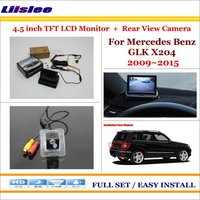 Liislee For Mercedes Benz GLK Class X204 4.3 TFT LCD Monitor + Car Rearview Back Up Camera = 2 in 1 Car Parking System