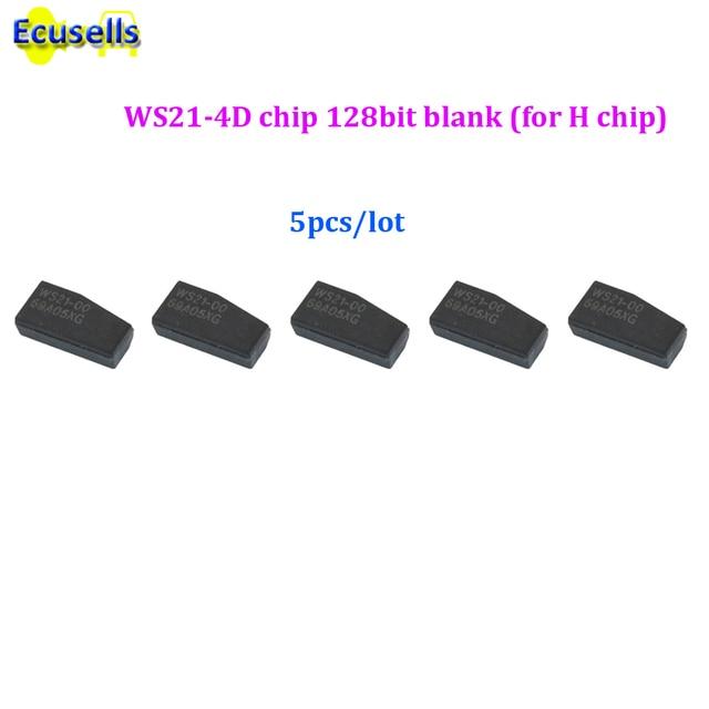 5 unids/lote WS21-4D chip 128bit en blanco (H chip) de 128 bits para Toyota Camry Rav4 2013-2015