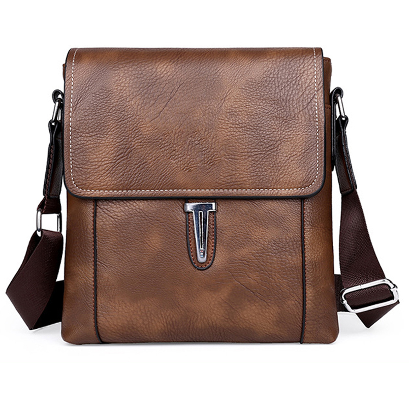 Pu Leather Bag  Men Bags Shoulder Crossbody Bags Messenger Small Flap Casual Handbags Male casual Bag genuine leather bag male men bags small shoulder crossbody bags handbags casual messenger flap men leather bag crocodile pattern