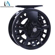 Maximumcatch 5/6/7/8 WT Fly Reel Aluminum Black Right&Left-handed Fly Fishing Ree Fly Reel