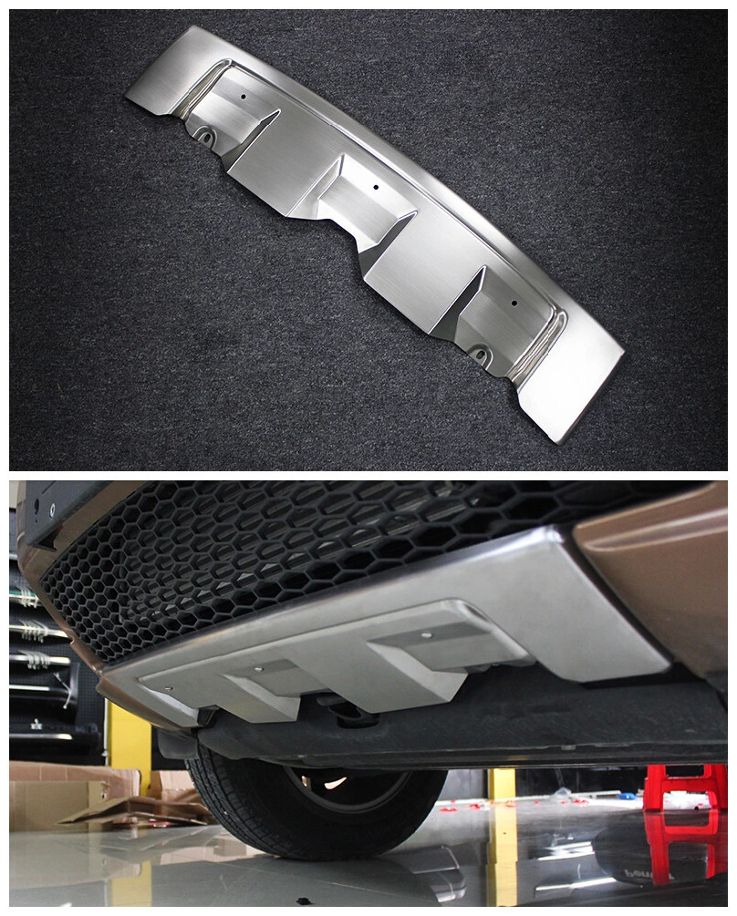 Front Bumper Skid Protector Guard Plate 1pcs For Land