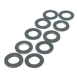 top 10 toyota engine gasket list  10 pcs engine oil drain plug seal gasket rings washer 90430 12031 for toyota