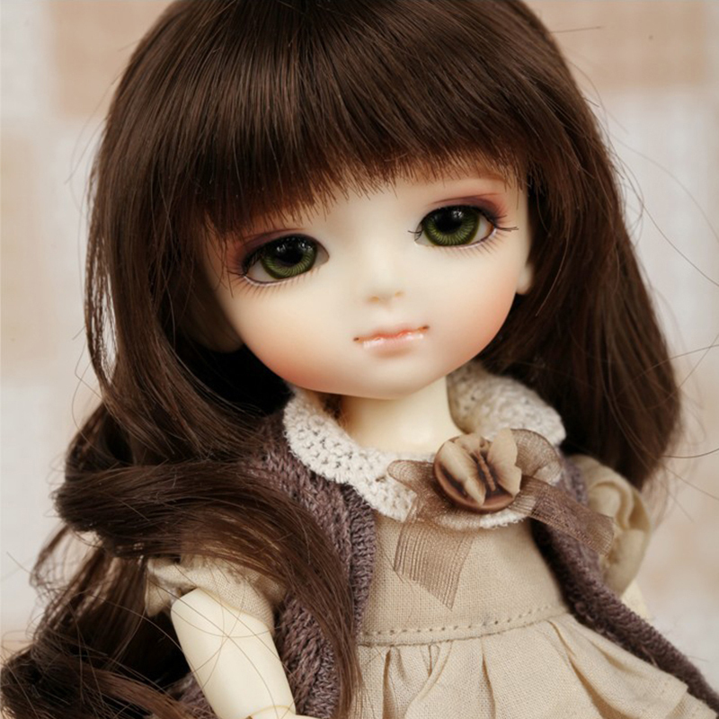1 8 BJD yellow doll coco