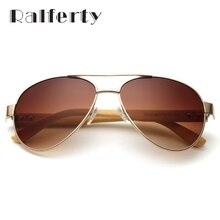 Wood Bamboo Pilot Sunglasses