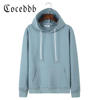 COCEDDB Brand Fashion Hooded Funny Solid Colors Hoodies 2017 Autumn Streetwear Hip Hop Tracksuits Pullover Sweatshirts