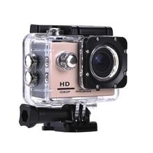 """HD 1080P спортивная экшн-Камера 2,"""" ЖК-экран 120D 12MP Подводная Водонепроницаемая видеокамера для записи s Спортивная камера 5 цветов"""