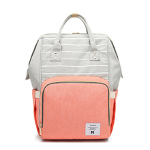 42cm New Fashion Mummy Maternity Nappy Bag Large Capacity Baby Travel Backpack Nursing for Care Hand