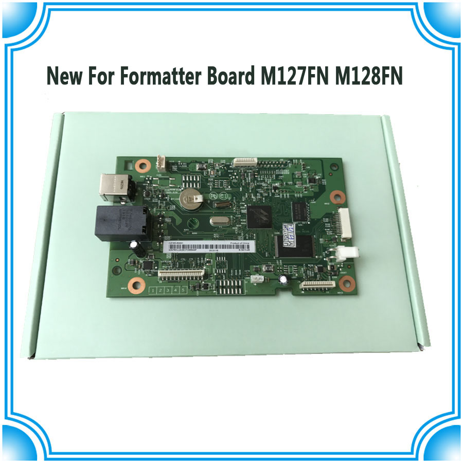 Original new CZ181-60001 CZ183-60001 Formatter Board for HP M127FN M128FN M127 M128 127FN M127FW M128FW 127FW 128FW MainBoard formatter board for hp m127 m128 m127fn m128fn cz181 60001 cz183 60001