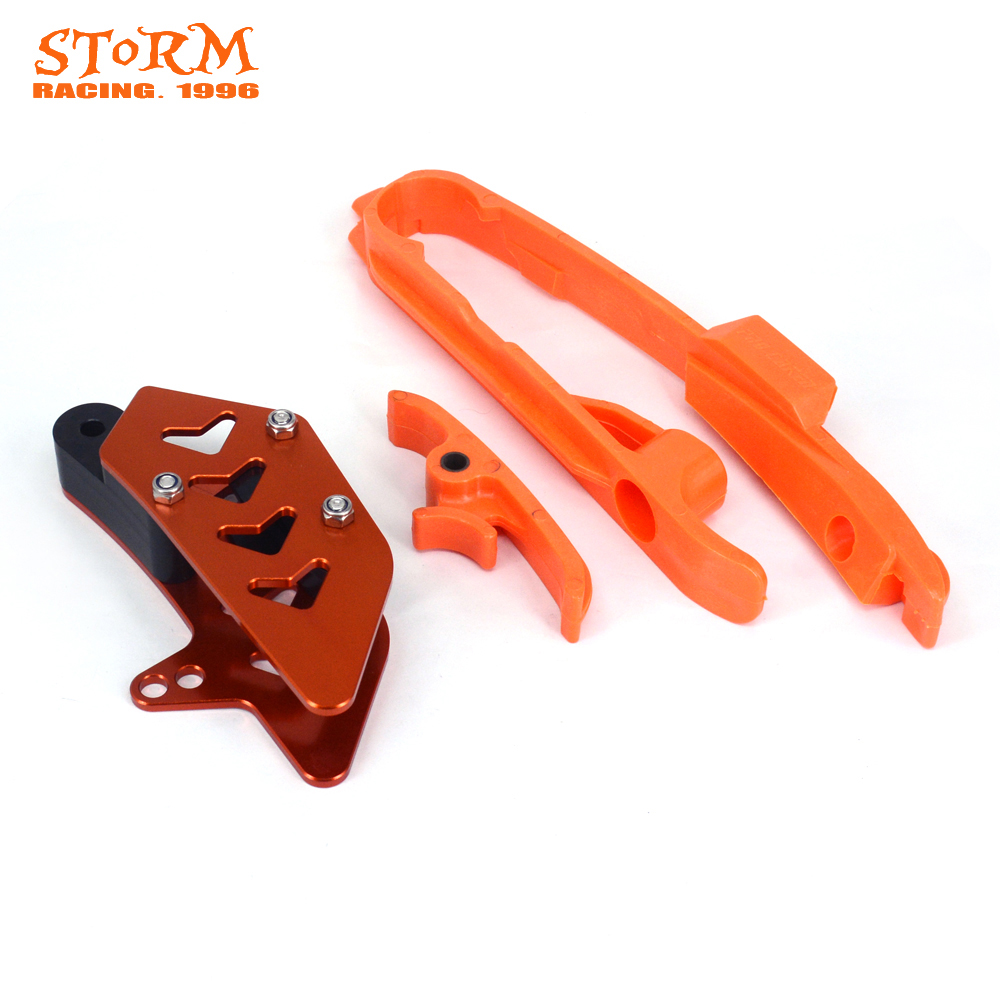 Motorcycle Chain Slider Swingarm Guide Set For KTM 125 150 200 250 350 450 525 SX SXF SX125 2011-2015 2011 2012 2013 2014 2015 0322 star new team graphics with matching backgrounds fit for ktm sx sxf 125 150 200 250 350 450 500 2011 2012