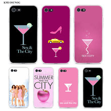 Transparent Soft Silicone Phone Case sex and the city for iPhone XS X XR Max 8 7 6 6S Plus 5 5S SE