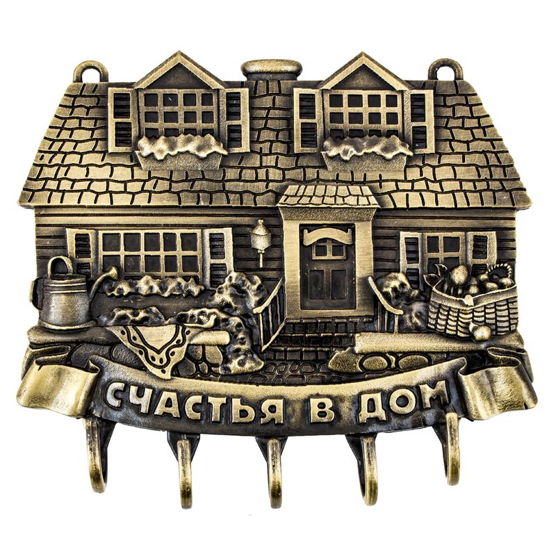 2017 hot sale key hooks Beautifully kitchen bedroom hooks. Antique wall hooks Housekeeper happy home