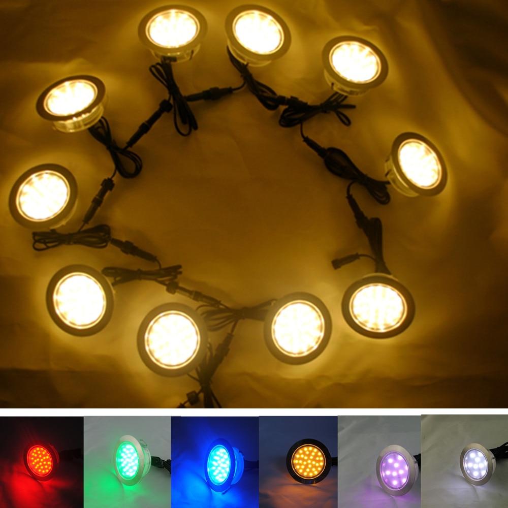 LED Passo Luz para Jardim Quintal Lâmpada