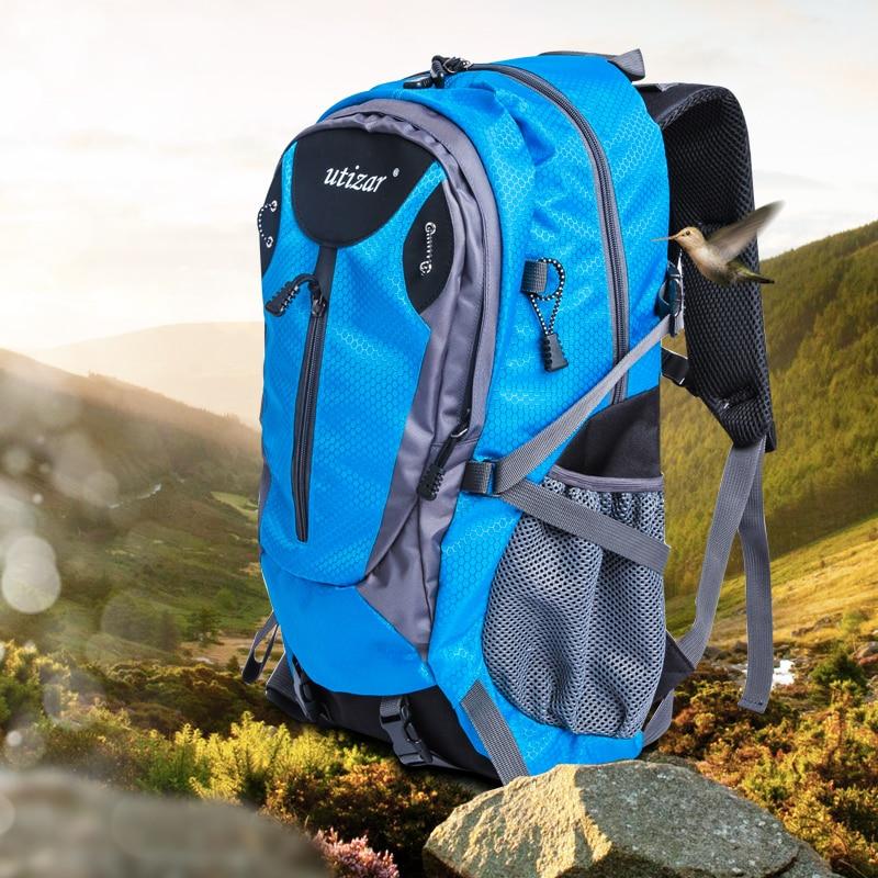 Voyage en plein air sacs à dos de randonnée camping sac de sport escalade mountain Equipment 35L homme femme sac à dos GYM trekking sac à dos
