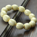 Manmade ivory bone beads bracelet bead 1.3-2.0CM imitation ivory bracelet tooth pattern clearly good quality new arrival 0649