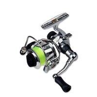 Mini Fishing Spinning Reel 4.3:1 Ultra light Metal Ice Reel Raft Lure Wheel Left/right Interchangeable Handed