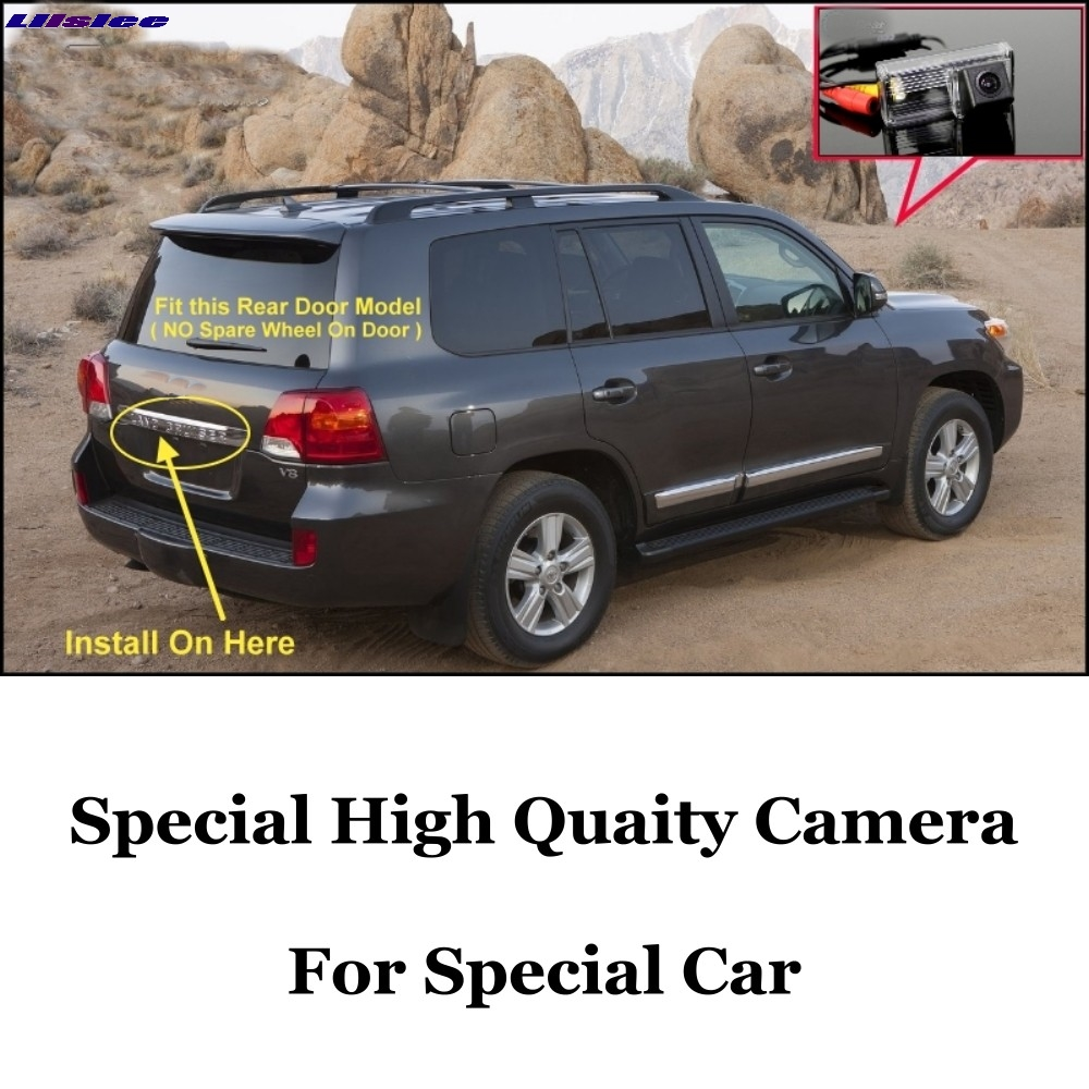 Liislee Car Camera For TOYOTA Land Cruiser LC <font><b>200</b></font> LC200 2008~ 2014 High Quality Rear View Back Camera For <font><b>Fans</b></font> Use| CCD + RCA image
