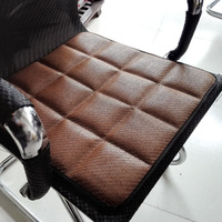 דשא אסיה כרית מושב מכונית כרית מושב רכב פחם במבוק שימוש עונת ארבעה התנגדות להחליק כיסוי מושב מכונית אחת