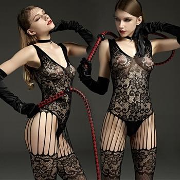 Sexy Bodystockings underwear Crotchless 1
