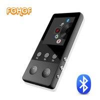 Pedo Meter Bluetooth MP3 Player TFT Screen HIFI Music Player With Voice Recorder FM Radio Audio