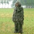 Мужские 3D Ghillie Военная Bionic Скрытые охота фотография Костюмы Камуфляж Снайпер Охота С Луком комплект Clothing Военной одежды