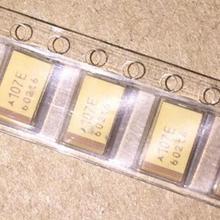 10 шт. 7343, алюминиевая крышка, 25В 100 мкФ D 10% SMD Танталовый конденсатор