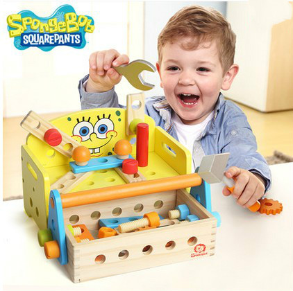 Multi-function children disassembling toys the mounting nut combination educational toys new arrival nut assembly tool box 68pcs baby wooden toys child educational garden tool toys nut combination chirstmas gift