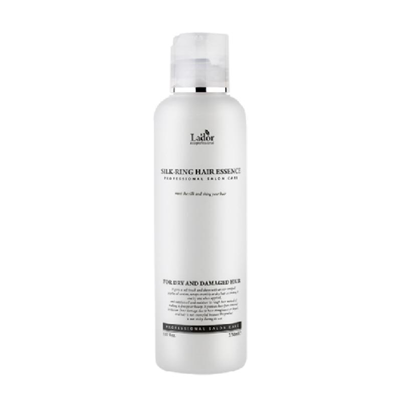 LADOR Silk Ring Hair Essence 160ml Hair Conditioner Damaged Repair Keratin Scalp Treatment Make Hair Shining Smooth Hair Care