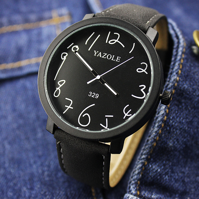 New YAZOLE Luminous Wrist Watch Mens Watches Top Brand Luxury Mens Watch Men Watch Clock Saat Relogio Masculino Relojes Hombre
