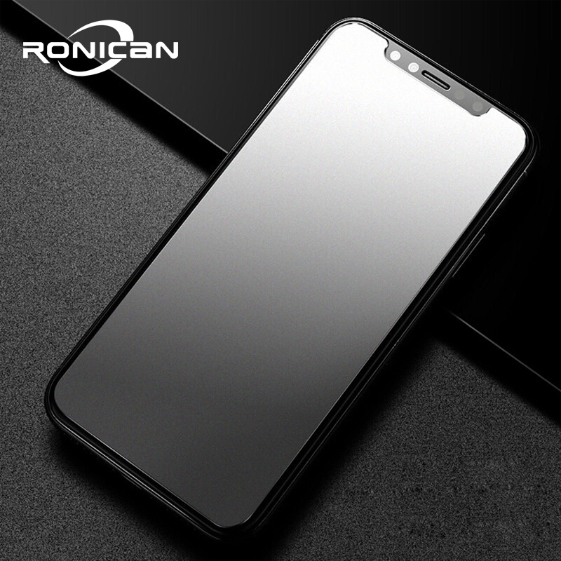 Matte Glass on iPhone 8 Plus tempered glass 9h hardness iPhone 6 7 explosion-proof protective frosted glass For iPhone Xs max XR