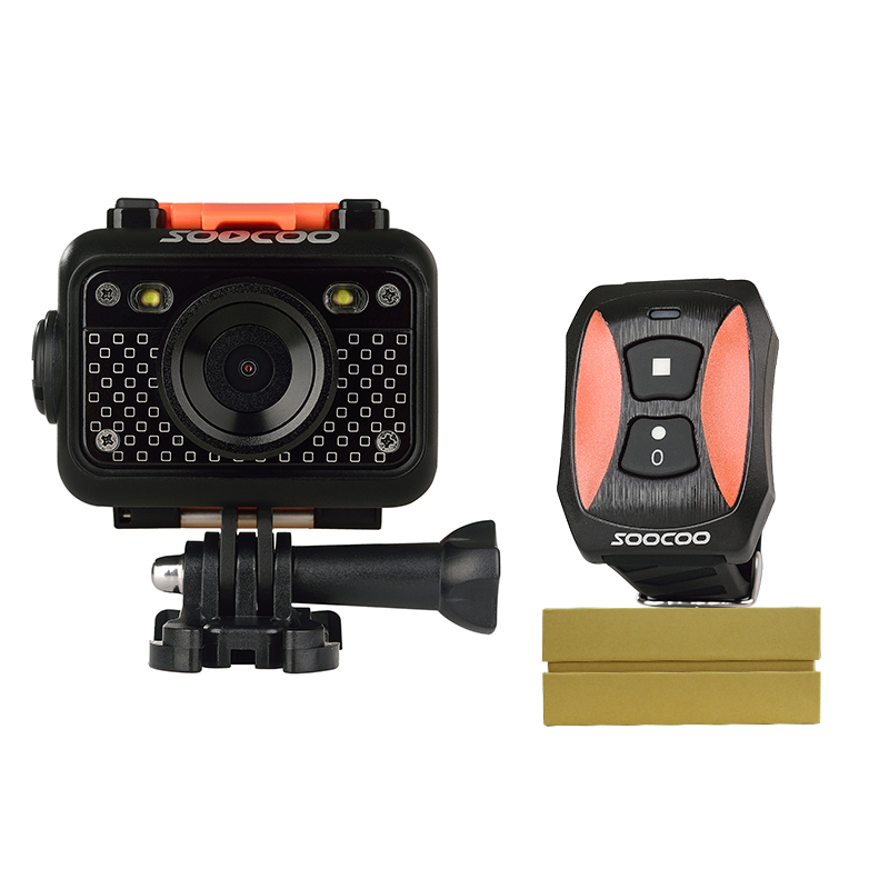 RU Warehouse Shipping,SOOCOO S60B 1080P Sports Action Camera Waterproof 30m Wifi Full HD 170 Degree Lens with Remote Control