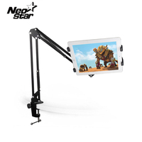 High Qiality Telescopic Useful Adjustable Foldable Lazy Bed Desk Mount Stand Holder Cradle For All Tablet