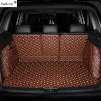 Флэш память коврик искусственная кожа багажнике автомобиля коврики для Lexus GT200 ES240 ES250 ES350 GX460 GX470 GX400 GS300 GS350 GS450 IS430 LS460 багажника