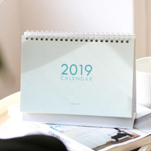1 Pcs 2019 Year Multi-function Seansom Color Desk Calendar Desktop Wall Calendar Scheduler Planner Yearly Agenda Organizer