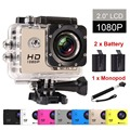 GOLDFOX SJ7000 Mini Camera WIFI 1080P HD Action Camera Recorder Cam Sport DV Video Camcorder Car DVR HDMI Waterproof Helemt Set