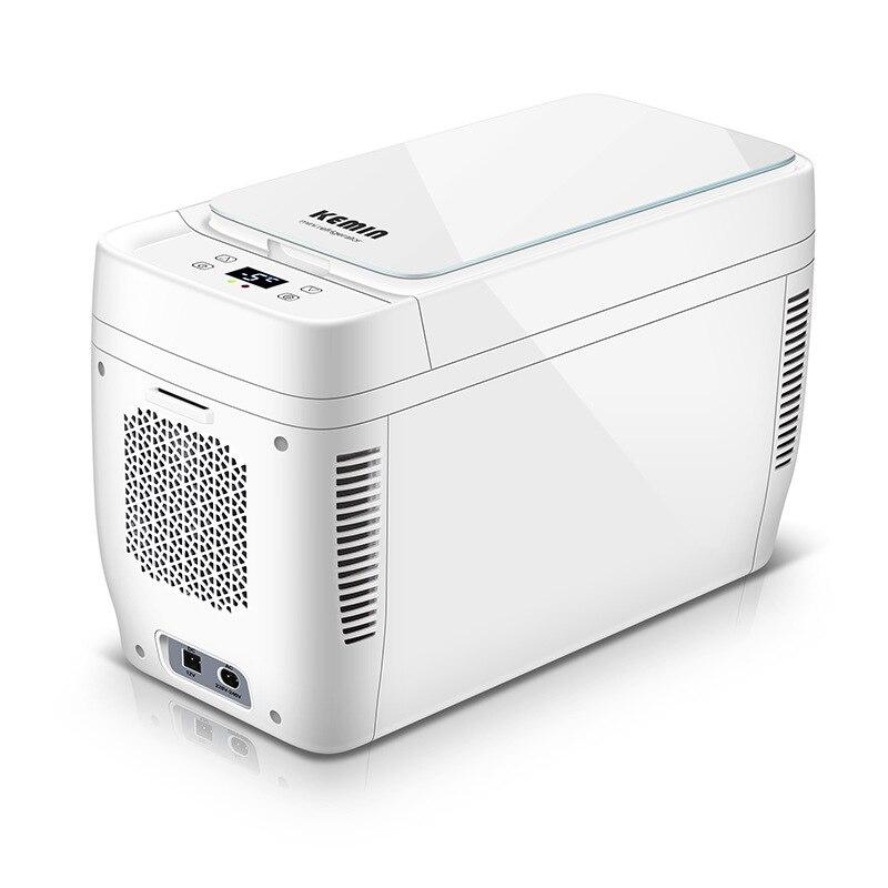 11L Dual-core Portable Mini Fridge Car Refrigerator Camping Cooler Box Heating Refrigerator Small Compressor Free Shipping