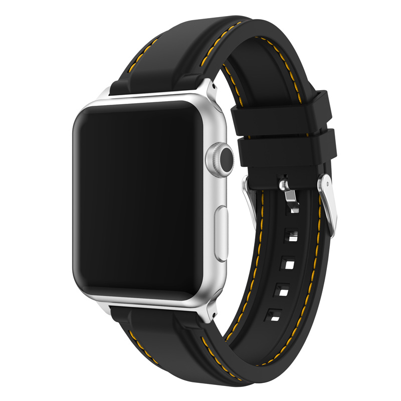 New Arrival 10 Colors Silicone Strap for Apple Watch Band Series 3/2/1 Replacement Bracelet