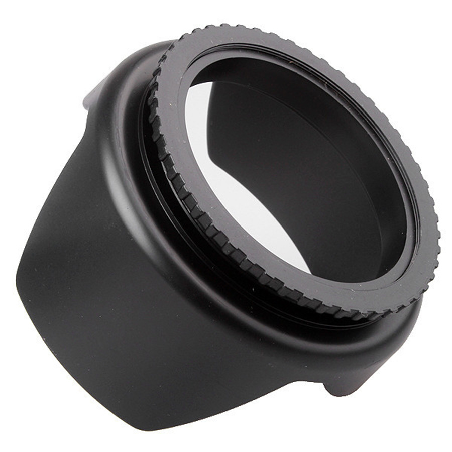 NA 49mm Thread Screw for Universal Camera in Round-Shaped Lens Hood