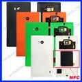 Original voltar bateria habitação case capa shell para nokia lumia 930 multi-cor da porta da bateria com nfc lente do flash sanerqi