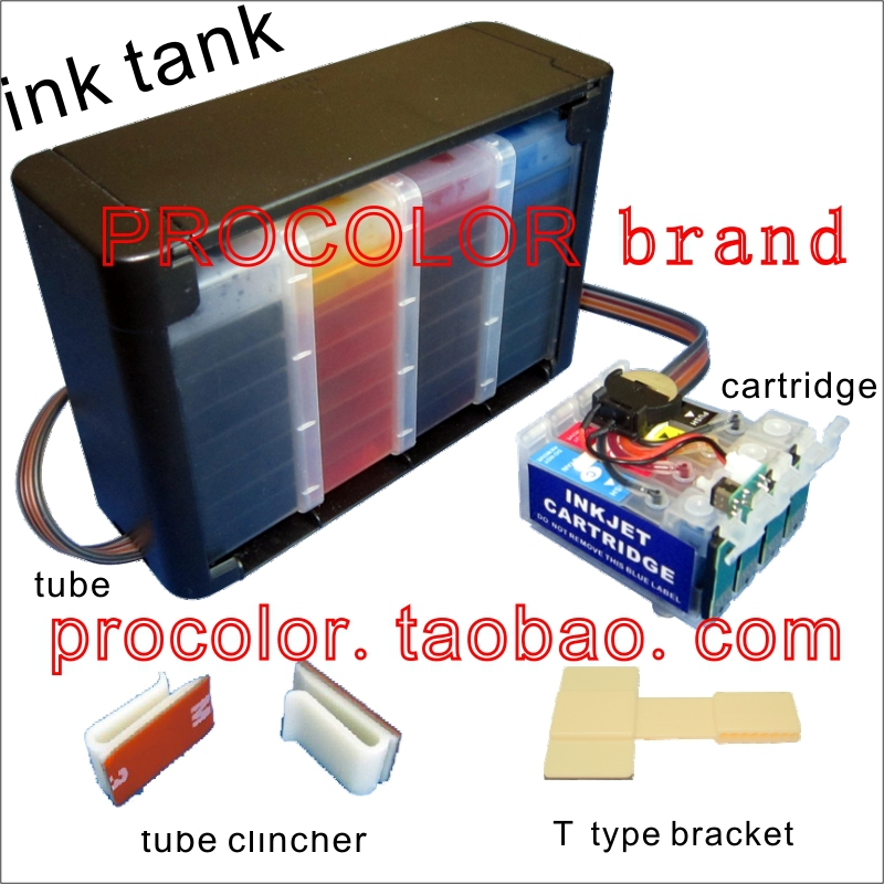 WELCOLOR CISS Europe AREA for epson 16 T16 T16XL T1621 T1631 T1631XL WF-2630 WF2630 WF 2630 inkjet printer,With ARC chips
