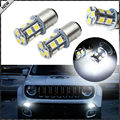 (2) 6000 K Super White 13-SMD LED Daytime Running Light Focos de Repuesto Fit 2015 2016 Jeep Renegado