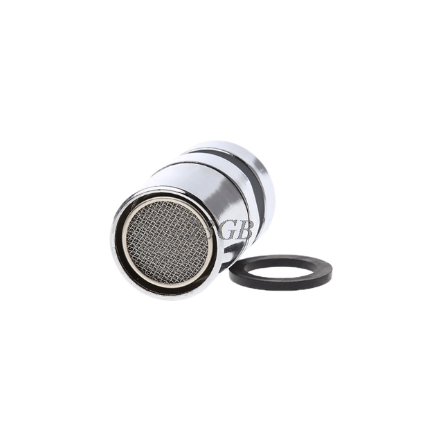 Chromed 22mm Swivel Water Saving Tap Aerator Faucet Nozzle Spout Filter Adapter F28