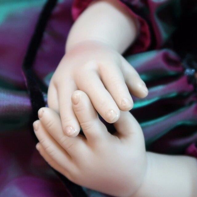 60cm Silicone Vinyl Reborn Baby Doll Toy