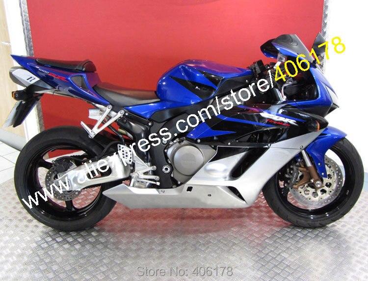 Горячие продаж,пригодный для Honda CBR1000RR 2004 2005 CBR1000 04 05 синий и серебряный мотоцикл обтекатель прессформа Впрыски (Инжекционный метод литья)