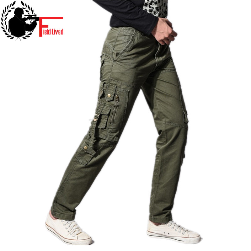popular brand buy online order US $32.5 |Military Style Clothing Army Style Pants Men Side Zipper Pockets  Cargo Trouser Brand Train Multi pocket Male Jogger Tactical New-in Cargo ...