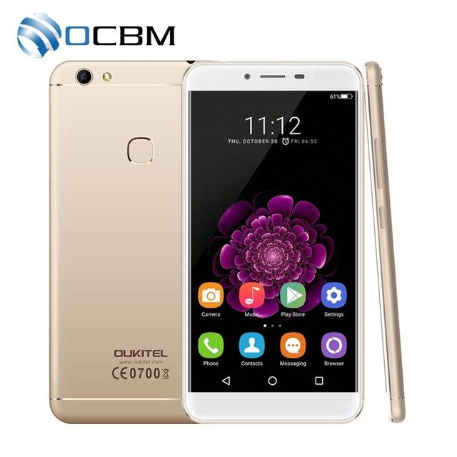 "New Arrival Oukitel U15S 5.5""FHD Octa Core 4GB RAM 32GB ROM MTK6750T Android 6.0 13.0MP 1920x1080 Fingerprint ID Mobile Phone"