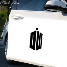 British TV Show Dr Who DW Tardis Vinyl Decal Car Window Sticker D069