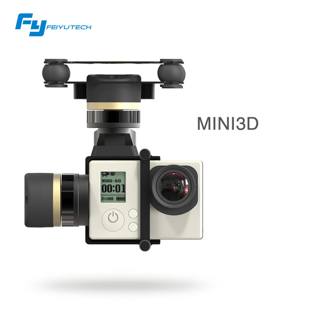 feiyutech New Brushless Motor 3 Axis Gimbal MINI 3D For Rc Drone DJI phantom 1 2 Quadcopter Fixed Wing